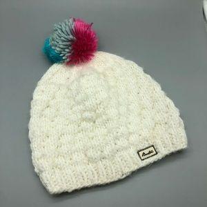 Burton knit winter Pom Pom beanie hat